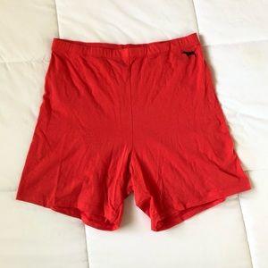 Victoria's Secret PINK high waist biker shorts
